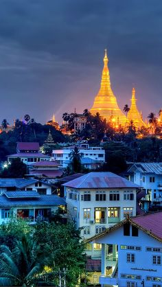 This is Yangon City the main city in Myanmar/ Burma. Myanmar Travel, Burma Myanmar, Asia Travel, Laos, Yangon, Vietnam, The Places Youll Go, Places To Visit, Places To Travel