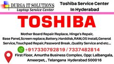 Toshiba Service Center in Madhapur, Hyderabad. We are the most Trusted Toshiba Laptop Service Center in Hitech City, Kondapur, Gachibowli, Jubilee Hills. Laptop Speakers, Laptop Repair, Phone Service, Best Laptops, Data Recovery, Hyderabad, Notebooks, Notebook