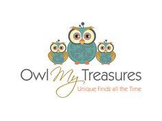 Boutique By Design Portfolio - Logo Design - Owl My Treasures