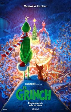 Directed by Yarrow Cheney, Scott Mosier. With Benedict Cumberbatch, Cameron Seely, Rashida Jones, Pharrell Williams. A grumpy Grinch (Benedict Cumberbatch) plots to ruin Christmas for the village of Whoville. Watch The Grinch, The Grinch Movie, Rashida Jones, 2018 Movies, Hd Movies, Movies Free, Movies Online, Rent Movies, Prime Movies
