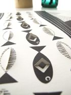 Jurianne Matter: Pop-up posters: Landscape, Fish and Tree