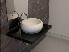 Countertop round washbasin TRANQUILITY | Washbasin - apaiser