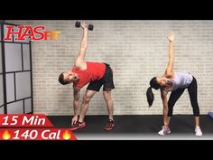 15 Min Abs and Obliques Workout Exercises for a Smaller Waist - 15 Minute Ab Workout Oblique at Home - YouTube