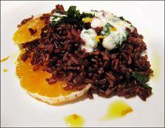 Ricetta a base di riso rosso integrale Veggie Recipes, Vegetarian Recipes, Veggies, Pasta, Beef, Ethnic Recipes, 3, Food, Vegan