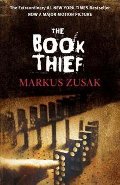 The Book Thief by Markus Zusak: This is a book that I need to read again. It takes place in Nazi Germany, narrated by Death. The movie comes out November 2013.