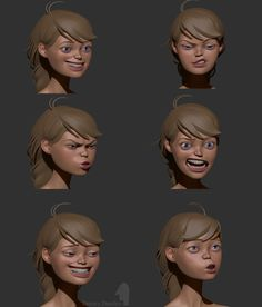 Girl_character_WIP by Dmitry Danilov | Cartoon | 3D | CGSociety