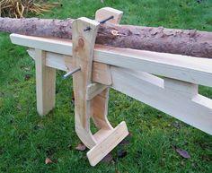 Image result for shaving horse bench