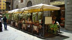 Mamma Mia pizzeria ristorante, central Florence