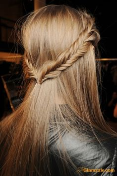I'm forever doing fishtail braids. But definitely going to try ones like this