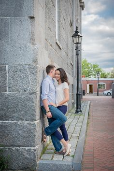 Boston and New England Engagement Photography
