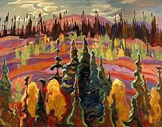 Canadian Modern Art - Lake Superior - A. Jackson - Group of Seven Tom Thomson, Emily Carr, Canadian Painters, Canadian Artists, Group Of Seven Artists, Group Of Seven Paintings, Abstract Landscape, Landscape Paintings, Jackson