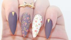 I wouldn't want nails that long but still love the designs