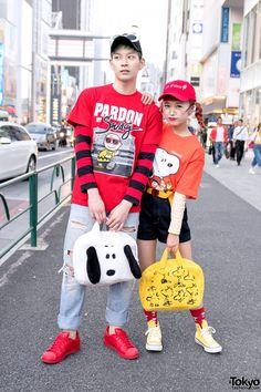 Hikapu & Daichi in Harajuku