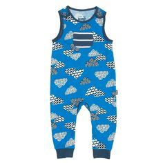 Kite Clouds Dungarees