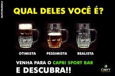 Venha para o Capri Sport Bar e descubra! #vemprocapri