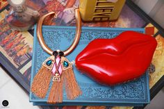 #Bag #Clutch #Lips #Outhouse #Jewellery #Chunky #Bling #Pout #Fashion #Accessory #Style