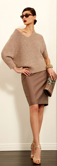 New fashion girl skirt fall 17 ideas Look Fashion, New Fashion, Trendy Fashion, Girl Fashion, Fashion Show, Fashion Outfits, Womens Fashion, Fashion Ideas, Brown Fashion