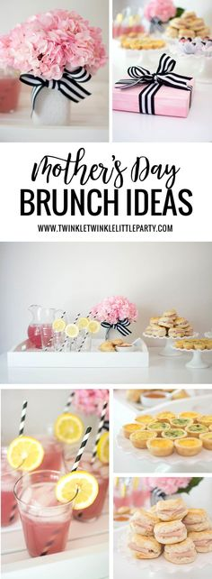Mother's Day is around the corner and I have some easy brunch ideas for you!