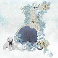 "**NOUVEAU KIT"" Polar Bear de Simplette Scrap & Design http://scrapfromfrance.fr/shop/index.php?main_page=product_info&cPath=314&products_id=16042"