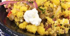 Salada de Cuscuz com Lentilha | Acompanhamentos > Lentilha | Mais Você - Receitas Gshow