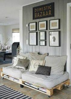 Ideias-para-decorar- sofá de paletes