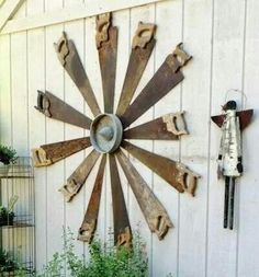 Rustic and creative! Two of my passions!