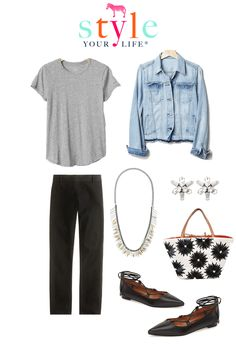 Style Your Life, Wardrobe Stylist, Personal Stylist : SYL Capsule Wardrobe May: Black Pants