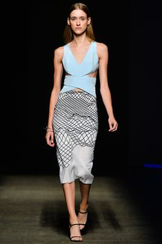 Dion Lee Spring 2014 Ready-to-Wear Fashion Show