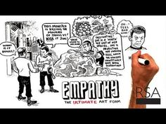 An excellent talk on Empathy - must see!    -- RSA Animate - The Power of Outrospection - YouTube