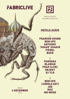 Fabriclive feat. Hessle Audio | Fabric | London | https://beatguide.me/london/event/fabric-fabriclive-hessle-audio-with-anthony-shake-shakir-objekt-joe-20131206