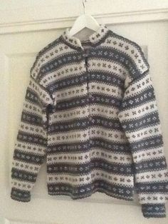 Trysil kofte Norwegian Knitting, Vintage Knitting, Men Sweater, Sweaters, Fashion, Moda, Fashion Styles, Sweater, Fashion Illustrations