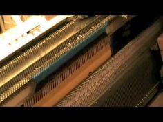 Macchina Maglieria il campione, tubolare e maglia rasata - YouTube