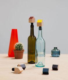 'Bottle Houses' by Daphna Laurens #utensils #trends #design #decoration #kitchen #DaphnaLaurens