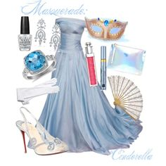 """Cinderella Masquerade"" by kmacleod on Polyvore"