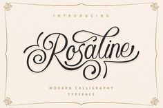 Rosaline + BONUS by sizimon on @creativemarket