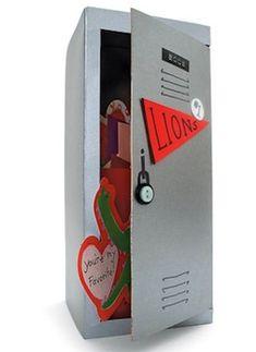 valentine box locker box craft