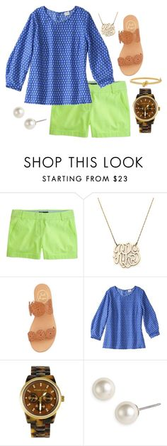 """""""Come Sail Away"""" by countryandclass ❤ liked on Polyvore featuring Moon and Lola, Jack Rogers, Michael Kors, Givenchy, Kate Spade, women's clothing, women's fashion, women, female and woman"""