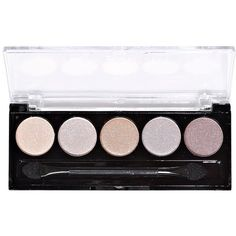 L.a. Colors Tea Time 5 Color Eyeshadow Palette (€1,91) ❤ liked on Polyvore featuring beauty products, makeup, eye makeup, eyeshadow, beauty, eyes, filler, nude, l.a. colors eyeshadow and palette eyeshadow
