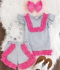 Diseñador Coco Bebé Niñas Vestido y Pantalones Set Rosa fue £ 42 ahora £ 22 Venta Venta