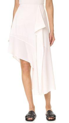 Acne Studios Pamsan Asymmetrical Skirt