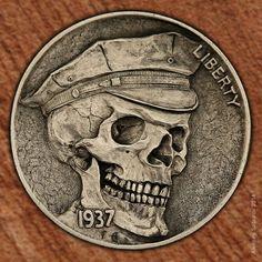 Skull by Aleksey Saburov.
