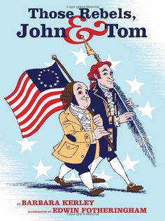 Lexile: 960L. (Picture Book Biographies) A cleverly written look at  two diverse founding fathers and early presidents, Thomas Jefferson and John Adams. Entertaining verse and droll illustrations parlay their differences and similarities into a lens through which to view the start of the American Revolution.