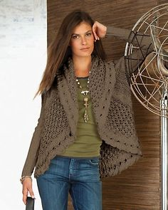 cloverleaf hand knit cardigan, this site is like coldwater creek. These clothes are exactly what I would wear if I could afford them!
