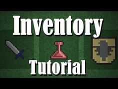 [Game Maker Tutorial] EASY RPG INVENTORY - YouTube Game Maker Studio, Unity Tutorials, Unity Games, Game Engine, Photoshop, Create, Easy, Youtube, Books