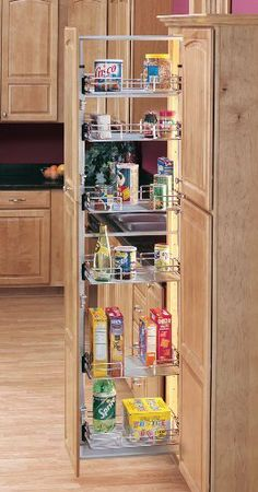 """Rev-A-Shelf 5200 Pull-Out Pantry - 04 Baskets - 20.62"""" Width - Chrome by Rev-A-Shelf. $681.16. Rev-A-Shelf 5200 features adjustable door mount brackets, full extension slides, 250 lbs capacity and 3, 4, 5 or 6 baskets.RAS 5200 is available in a several options of sizes.This organizer is packaged with frame, baskets and door mounting brackets included."""