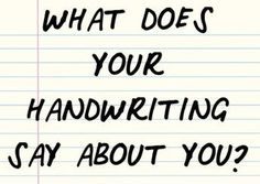 This Handwriting Quiz Will Reveal Different Parts Of Your Personality