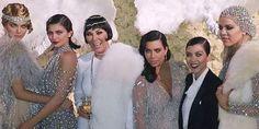 The Kardashian/Jenner's Go Great Gatsby for Kris Jenner's 60th Birthday