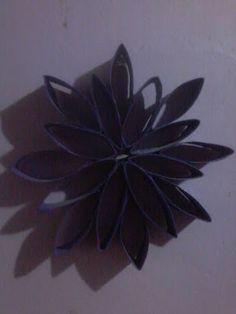 Decoração,Reciclagem e Artesanato Mandala Rolo de papel higienico