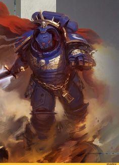 Primaris Space Marine,Warhammer 40000,warhammer40000, warhammer40k, warhammer 40k, ваха, сорокотысячник,фэндомы,Ultramarines,Ультрамарины,Space Marine,Adeptus Astartes,Imperium,Империум