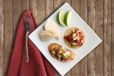 Here's a lovely plate of some of our most delectable appetizers: savory mini bean & cheese burritos, delightful rebanadas de tomates heirloom and tantalizing totaditas de chorizo.  More info: http://www.sohotaco.com/2015/01/05/a-plateful-of-visually-appetizing-treats-for-your-return-to-work-monday  #tacocatering #lafoodies